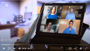 Two emergency room doctors and an emergency room nurse joined KING 5's virtual round table to talk about the earliest days of COVID-19